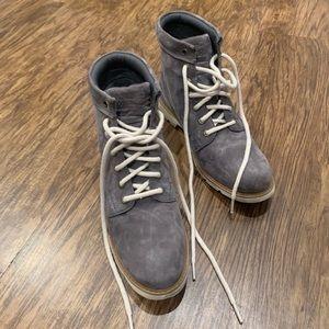 Light Grey Timberland Boots size 10 waterproof